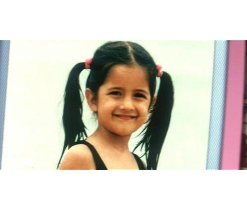 6 Adorable Childhood Pictures of Katrina Kaif