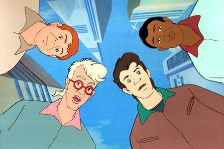 Peter, Ray, Egon and Winston