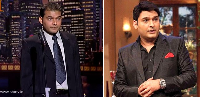 Then And Now Pictures Of Popular Comedian Kapil Sharma