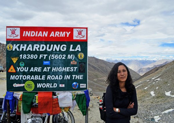 Highest motorable road of the world
