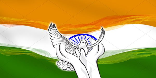 India was always a peace loving nation