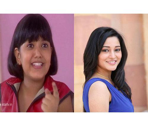 Then And Now Pictures of Sainee Raj aka Ritu From Shaka ...  Then And Now Pi...