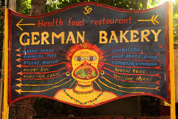 German Bakery, Anjuna, Goa