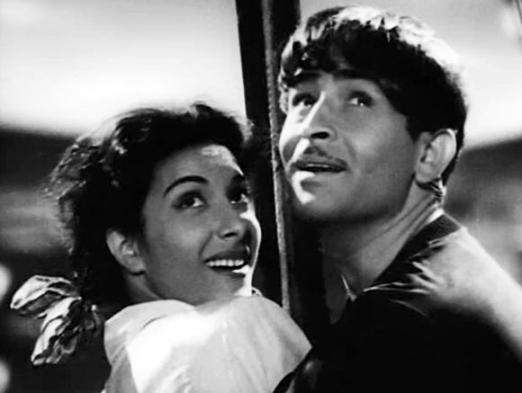 Raj Kapoor and Nargis