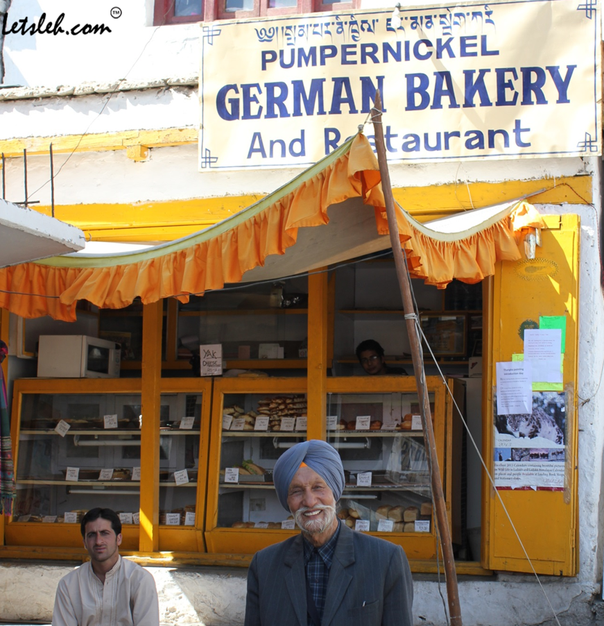 German Bakery, Leh