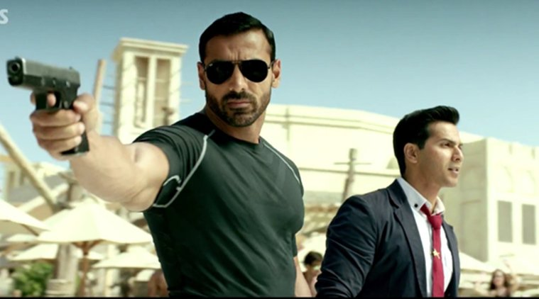 Dishoom action