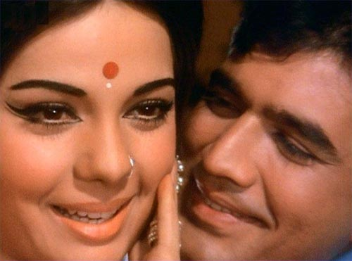 Rajesh Khanna with Mumtaz