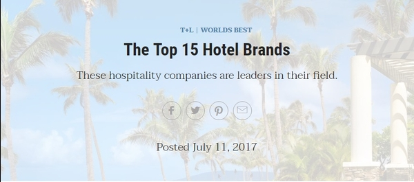 2 Indian Hotel Brands Among Top Ten – And Why Not!