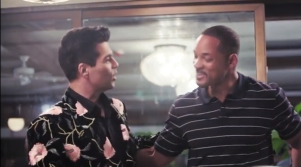 Will Smith Goes Full Bollywood - Ranveer Singh Shows Him How